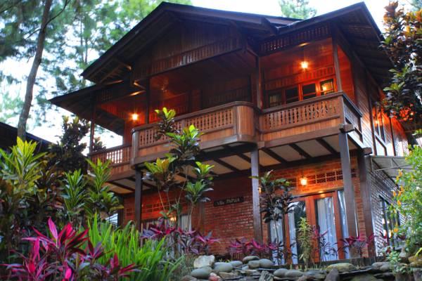 Eksotisme Alam Di Jambuluwuk Puncak Resort Ciawi Bogor Villa Di Puncak